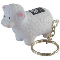 Llavero antiestrés oveja personalizado