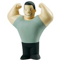 Antiestrés con forma de hombre musculoso personalizado