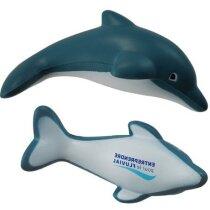 delfín antiestrés con acabado brillante personalizado