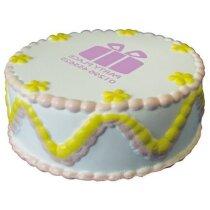 Antiestrés con forma de tarta personalizada