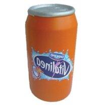 Antiestrés modelo lata de bebida personalizada