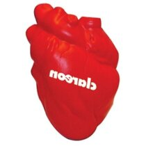 Antiestrés con forma de  corazón personalizado