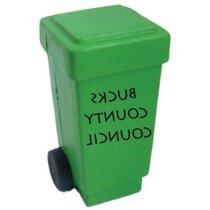 Antiestrés con forma de contenedor personalizado