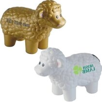 Antiestrés con forma de oveja