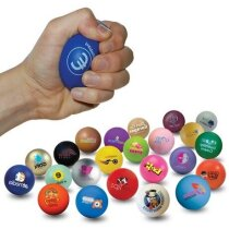 Pelota antiestrés de colores personalizada