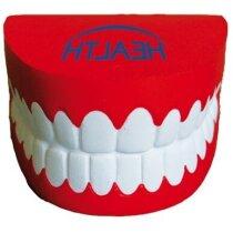 Antiestrés con forma de dentadura