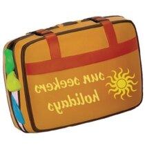 Antiestrés con forma de maleta personalizado