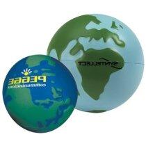 Antiestrés con forma de globo de la tierra personalizado