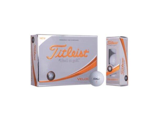 Pelotas de golf resistentes Titleist personalizadas