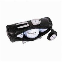 Bolsa de cuero pelotas de golf personalizada