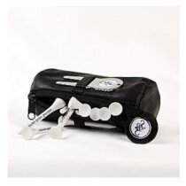 Bolsa de cuero para accesorios de golf