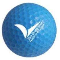 Pelotas de golf doradas o plata personalizada