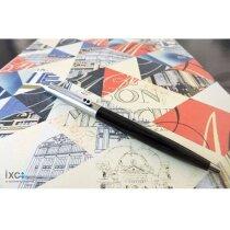 Bolígrafo refinado con pulsador personalizado