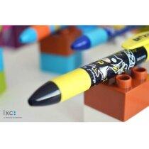 Bolígrafo mini de metal con tapa personalizado
