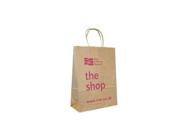 Bolsa para regalo y compras de papel de gran calidad