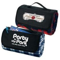 Manta de picnic enrollable personalizada