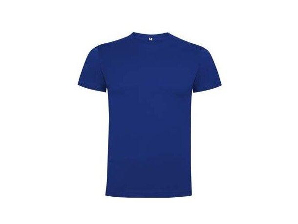 Camiseta 165 gr de Roly modelo Dogo personalizada azul