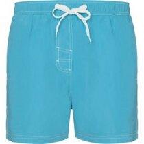 Bañador grabada para hombre hasta las rodillas personalizado azul claro