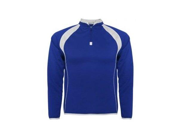 Sudadera deportiva ajustada personalizada azul