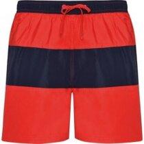 Bañador para hombre bicolor personalizado rojo