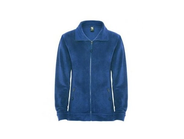 Forro polar de mujer personalizado azul