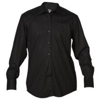 Camisa de hombre básica 135 gr personalizada negra