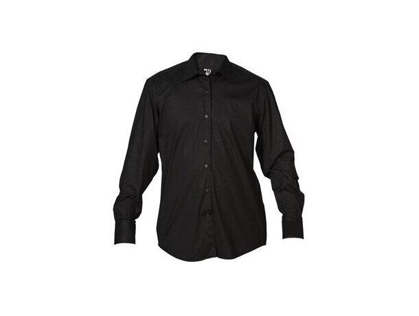 Camisa de hombre básica 135 gr negra