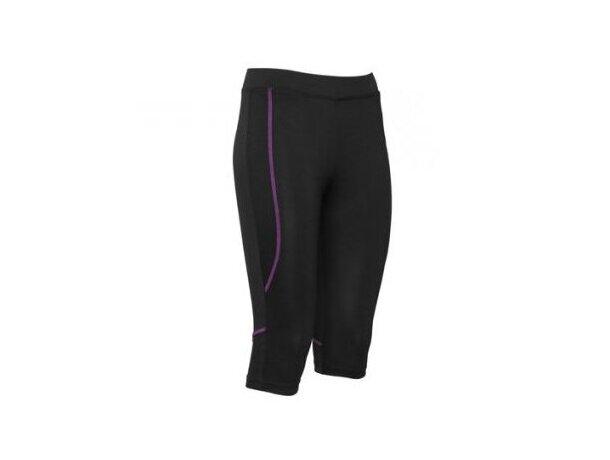 Mallas de mujer deportivas 205 gr personalizada lila
