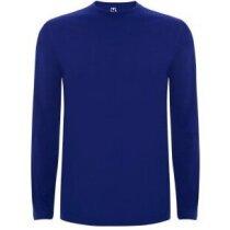 Camiseta manga larga unisex 150 gr personalizada azul