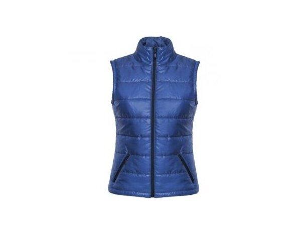 Chaleco de mujer de nieve personalizada azul