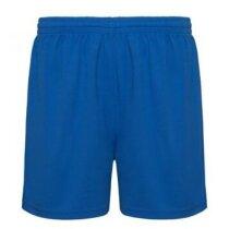 Pantalón corto deportivo 135 gr azul