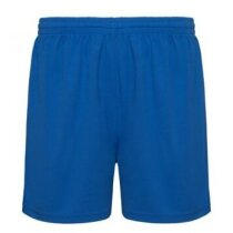 Pantalón corto deportivo 135 gr personalizado azul