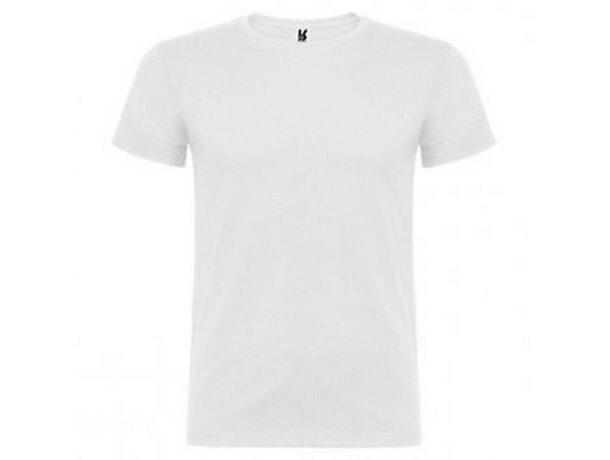 Camiseta unisex 155 gr grabada blanca