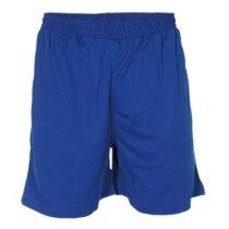 Pantalón corto deportivo poliester 135 gr personalizado azul