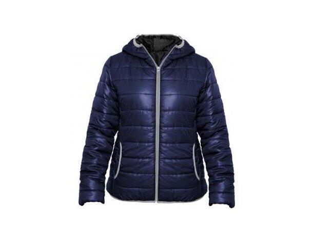 9f7cb1afb51 Chaqueta para el frío polar de mujer con logo azul