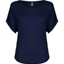 Camiseta de mujer diseño murciélago azul