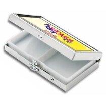 Pastillero rectangular con impresión a todo color barato