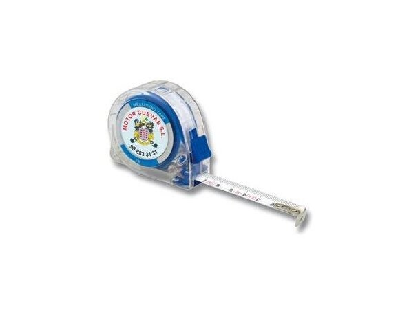 Flexómetro transparente con resina a todo color barato