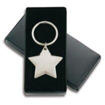 Llavero con forma de estrella de níquel