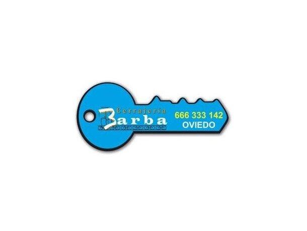 Iman de nevera flexible 0.5 llave personalizado