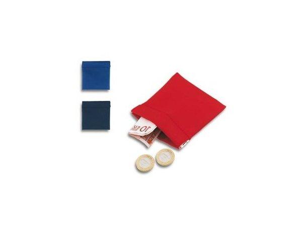 Monedero de polipiel de colores personalizada