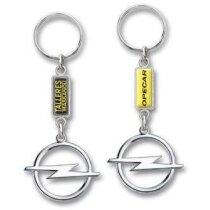 Llavero Opel Nde níquel personalizado