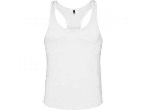 Camiseta unisex de tirantes 150 gr personalizada blanca