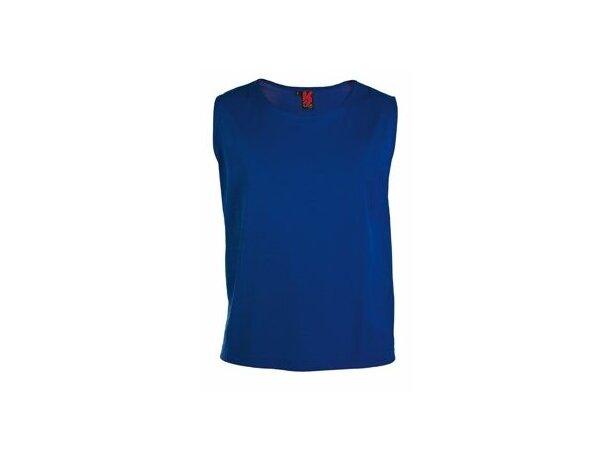 Peto deportivo en colores lisos personalizado azul
