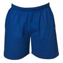 Bermuda de deporte en poliester personalizada azul