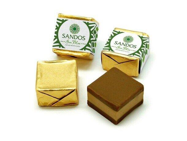 Cortado de chocolate