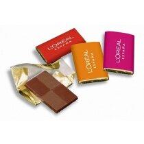 Napolitana de chocolate 9 grs personalizado