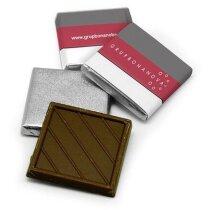 Napolitana de chocolate de 5 grs personalizado