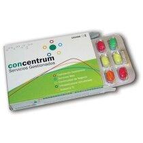 Caja medicamentos con blister sabores y colores surtidos personalizada