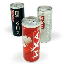 Bebida energética de 250 ml personalizado